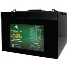 Enerdrive ePOWER 12V 100Ah eLITE Lithium Battery - NEW Great Value Lithium (EPL-100-12VLITE)