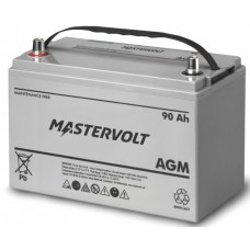 Mastervolt - 12 Volt - 90Ah - Marine Dual Purpose Starting/Deep Cycle AGM Battery - 62000900 (111074)