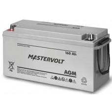 Mastervolt - 12 Volt - 160Ah - Marine Dual Purpose Starting/Deep Cycle AGM Battery - 62001600 (111078)