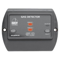 BEP LPG Gas Detector - 10-35vdc - incl. Sensor + 5m Lead - Optional Second Sensor - Optional Gas Solenoid Shutoff - 600-GDL (113122)