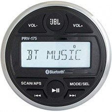 JBL PRV175 Marine Digital Media Receiver - LCD Display - Watertight Controller with 105mm Dia Face - Bluetooth Streaming (117350)