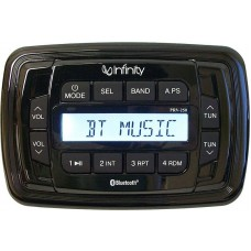 Infinity INF-PRV250 Marine Digital Media Receiver - LCD Display - Watertight Controller - Bluetooth Streaming (117356)