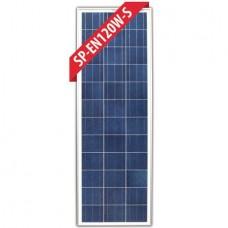 Enerdrive 120 Watt SLIM Poly Solar Panel - Incl. Marine and RV 'Mobile' Warranty(SP-EN120W-S)