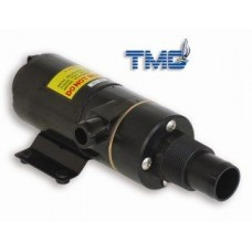 TMC Toilet Macerator Pump - 12 Volt Pump - Inlet Suits 25mm Hose or 38mm Thread - Outlet Suits 25mm Hose (132210)