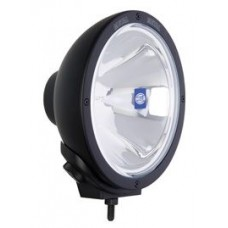 Hella Driving Light - Rally FF 4000 Series - 100W Pencil Beam - 12V - 222mm Dia - High Performance - Clear Lense with Black Metal Housing (1365)