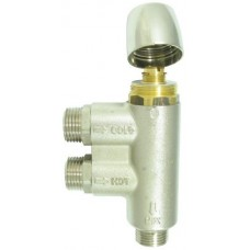 Whale Optional Thermostatic Mixer Valve for Hot Water Systems - Temperature Adjustable with Integral Non Return Valve (136686)
