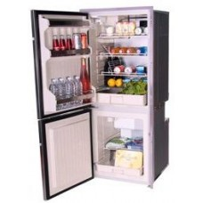 Isotherm CR195 Inox Stainless Steel Upright 2 Door Fridge/Freezer -130L Fridge Plus 65L Freezer - 12 to 24 Volt - LH Door Hinge  1195BB1NK (381716)