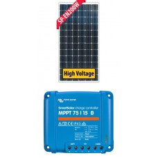 Solar 200W Solar Package incl. Victron MPPT BlueSolar Controller - Charges Max 13A/hr @ 12V - Suits 12V and 24V Systems Only (ENE200WP_1)