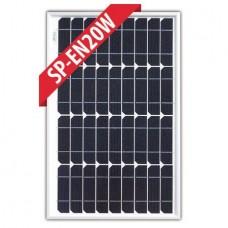 Enerdrive 20 Watt Mono Solar Panel - Incl. Marine and RV 'Mobile' Warranty (SP-EN20W)