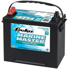 Deka Marine Master Battery - 24M7  - 12 Volt -  800CCA - Marine Starting - Maintenance Free Battery (24M7)