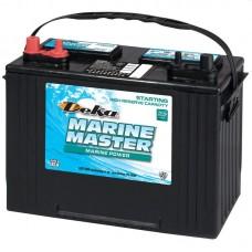 Deka Marine Master Battery - 27M6  - 12 Volt -  840CCA - Marine Starting - Maintenance Free Battery (27M6)