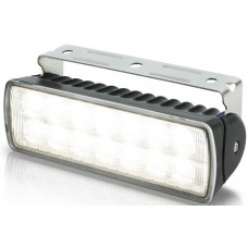 Hella Marine LED Sea Hawk R Flood Light - Black Housing - 9-33VDC - 550 Lumens (2LT980573011)