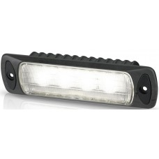 Hella Marine LED Sea Hawk R Flood Light - Recessed Mount - Black Housing - 9-33VDC - 550 Lumens (2LT980577001)