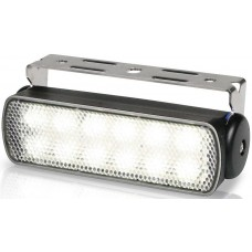 Hella Marine LED Sea Hawk Deck Flood Light - White Light - Black Housing - 12VDC - 180 Lumens (2LT980670361)