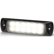 Hella Marine LED Sea Hawk Deck Flood Light (Recess Mount) - White Light - Black Housing - 9-33VDC - 200 Lumens (2LT980747101)