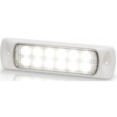 Hella Marine LED Sea Hawk Deck Flood Light (Recess Mount) - White Light - White Housing - 9-33VDC - 200 Lumens (2LT980747111)
