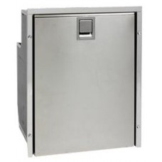 Isotherm CR49 Inox Stainless Steel Fridge/Freezer - 12 or 24 Volt - 46L Marine Fridge with a 4L Freezer 1049BA1MK