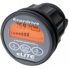** FREE FREIGHT ** Enerdrive-Xantrex-TBS eLITE Battery Monitor - 12-24VDC - 50mm Display - Incl. 500A Shunt and 5m Data Wiring Cable (EN55010)