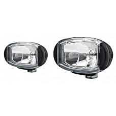 Hella Driving Light Kit - Comet FF 550 Series - 100W Kit (2 x 55W) - 12V - Complete Kit (5652/100)