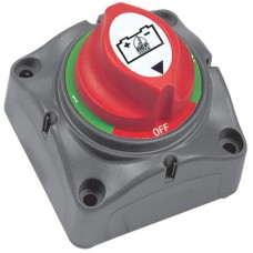 BEP Marinco Mini Battery Selector Switch - Surface Mount (1-2-Both-Off) - 200A Cont - 300A Int - 1000A Crank - 113557 (SUR 701S)