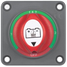 BEP Marinco Mini Battery Selector Switch - Panel Mount - (1-2-Both-Off) - 200A Cont - 300A Int - 1000A Crank - 113553 (SUR 701S-PM)