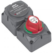 BEP Marinco Battery Switch (1-2-Both-Off) Cluster with Dual Sensing DVSR - 113654 (SUR 714-140A-DVSR)