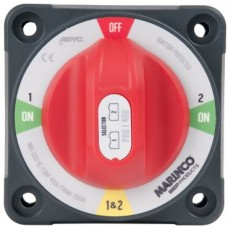 BEP Pro Installer 400A Battery Selector Switch (1/2/Both/Off) - Standrad Mount - 400A Continuous - 600A Intermittent - 1500A Cranking - 114086 (SUR 771-S)