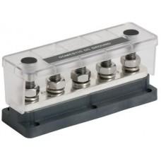 "BEP Pro Installer HD Bus Bar - 5 STUD - 650A - 5 x 10mm (3/8"") Studs - 50VDC (SUR 777-BB5S-650)"