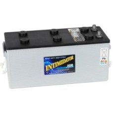 Deka Intimidator (Seamate) - 12 Volt - 200Ah - 1110CCA - DUAL Purpose AGM Battery - N150 Case Size (8A4DM)