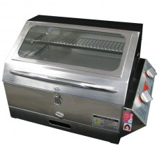 Galleymate Marine 1100 Gas Barbecue - High Lid with Window - STAINLES STEEL HOTPLATE (GM1100SS)