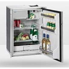 Isotherm CR130 Inox Stainless Steel Matched Fridge/Freezer - 12 or 24 Volts - 122L Litre Fridge with 8 Litre Freezer - Right Hand Door Hinge (1130BB1MK)