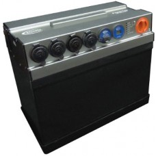 Baintech PowerTopV3 - 12V 135Ah AGM Battery - Complete System with Built-In AC, DC and Solar Charging - 4 Outlets + USB and Volt Meter (BTPTOP135V3)