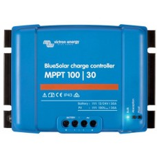 BlueSolar MPPT 100/30 Solar Charge Controller - Solar Panel Regulator – Suits 12 or 24V Systems (SCC020030200)