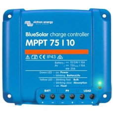 BlueSolar MPPT 75/10 Solar Charge Controller - Solar Panel Regulator – Suits 12 or 24V Systems (SCC010010050R)