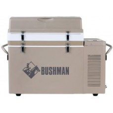 Bushman - The Original 35L-52L Portable Bushman - 240V/12V/24V - Expandable Fridge or Freezer - 3 Internal Stacking Baskets