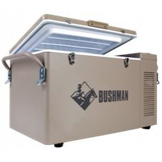 Bushman - The Original 35L Portable Bushman - 240V/12V/24V - Fridge or Freezer - 2 Internal Stacking Baskets
