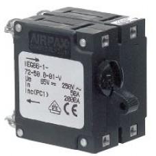 BEP Marinco Circuit Breaker Switch - Double Pole - 5 Amp - Magnetic B Series (SUR CBS-5A-DP)