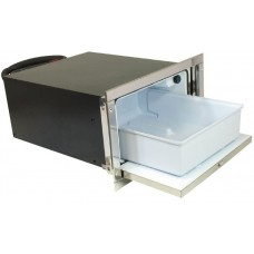 Isotherm DR36 Inox Stainless Steel Drawer Fridge - 12 or 24 Volt - 36 Litre - Compressor May Be Mounted up to 1m Away (381632)
