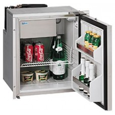 Isotherm CR65 Inox Stainless Steel Fridge/Freezer - 12 or 24 Volt - 61L Fridge with 4L Freezer (1065BA1MK)