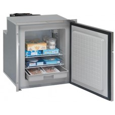 Isotherm CR65F Inox Stainless Steel Freezer - 12 to 24 Volt DC and 240 VAC - 65 Litre - Right Hand Door Hinge (1065BC7MK)