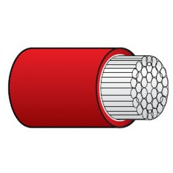 Marine Cable - Tinned - RED - 16mm² - Single Core (SUR TRI T16R)
