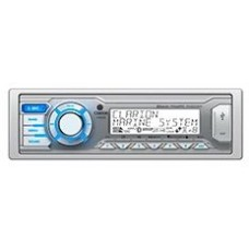 Clarion M505 Marine Stereo - with Built-In Bluetooth - Dual Zone - USB and Aux Input - M505