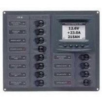 DC Circuit Breaker Panels Digital Meters
