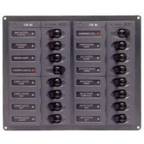 DC Circuit Breaker Panels No Meters