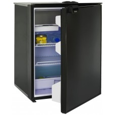 Bushman - Arcticold DC130X Fridge/Freezer - 12 or 24 Volt - 124L Fridge with 6L Freezer -  Reversible Black Door (DC130X)