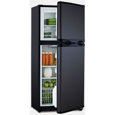 Bushman - Arcticold DC190L-X Fridge/Freezer - 2 Door - 12 or 24 Volt - 145L Fridge with 45L Freezer -  Reversible Black Doors (DC190L-X)