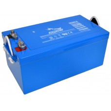 Fullriver DC260 - 12 Volt - 260Ah - 1525CCA - Marine-Caravan-RV Deep Cycle AGM Battery - Maintenance Free Sealed AGM (DC260-12)
