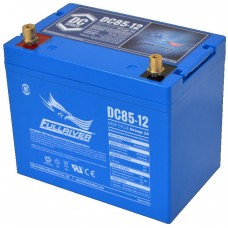 Fullriver DC85 - 12 Volt - 85Ah - 510CCA - Marine Deep Cycle AGM Battery - Maintenance Free Sealed AGM (DC85-12)