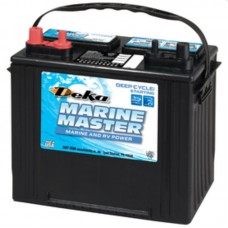 Deka Marine Master Battery - DP24  - 12 Volt -  550CCA - DUAL Marine Starting and Cycling - Maintenance Free Battery (DP24)