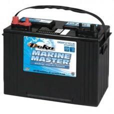 Deka Marine Master Battery - DP27  - 12 Volt -  650CCA - DUAL Marine Starting and Cycling - Maintenance Free Battery (DP27)